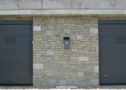 parete esterna garage in pietra - progetto4